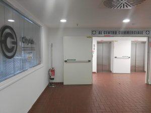 Ufficio di City Adv vicino agli ascensori